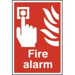 Fire alarm - PVC (200 x 300mm)