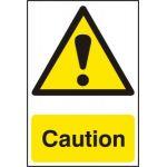 Caution - PVC (200 x 300mm)