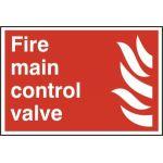 Fire main control valve - PVC (300 x 200mm)