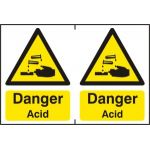 Danger Acid - PVC (300 x 200mm)