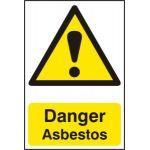 Danger Asbestos - PVC (200 x 300mm)