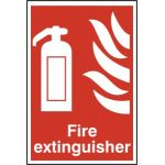 Fire extinguisher - PVC (200 x 300mm)