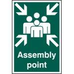 Assembly point - PVC (200 x 300mm)