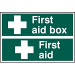 First aid box / First aid - PVC (300 x 200mm)