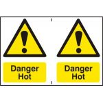 Danger Hot - PVC (300 x 200mm)