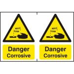 Danger Corrosive - PVC (300 x 200mm)