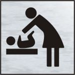 Baby changing symbol - BRS (120 x 122mm)