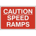 Caution Speed ramps - FMX (600 x 400mm)
