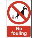 No Fouling - PYC (200 x 300mm)