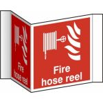 Fire hose reel (Projection sign) - RPVC (200mm face)