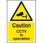 Caution CCTV in operation - SAV (400 x 600mm)