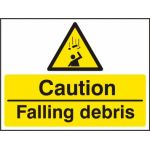 Caution Falling debris - RPVC (600 x 450mm)