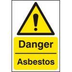 Danger Asbestos - RPVC (400 x 600mm)