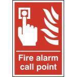 Fire alarm call point - RPVC (200 x 300mm)