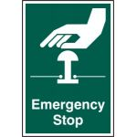 Emergency stop - RPVC (200 x 300mm)