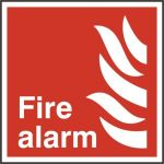 Fire alarm - RPVC (200 x 200mm)