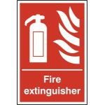 Fire extinguisher - RPVC (300 x 400mm)