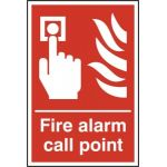 Fire alarm call point - RPVC (300 x 400mm)