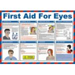 Safety Poster - First Aid for Eyes