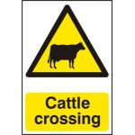 Cattle crossing - PVC (200 x 300mm)