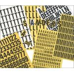 Magnetic Number Set - 39mm (Yellow)