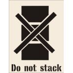 Do Not Stack Stencil (400 x 600mm)